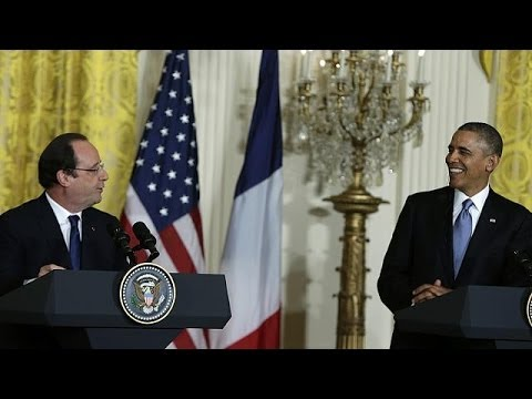 Hollande and Obama stress common Syria-Iran stance as French state visit nears end