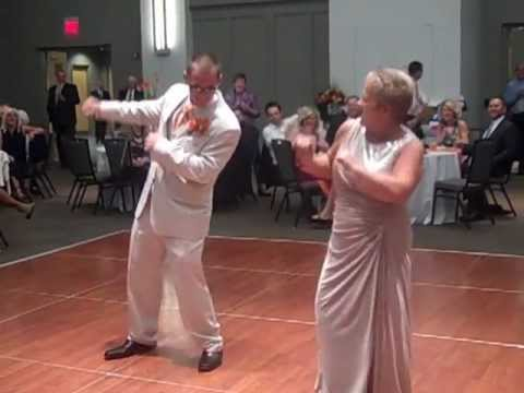 Energetic Mother Son First Wedding Dance