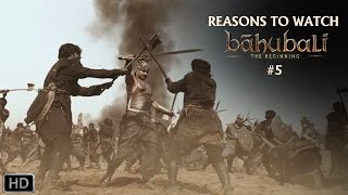 Reasons To Watch Baahubali -Rajamouli,Prabhas, Rana, Anushka ,Tamannaah