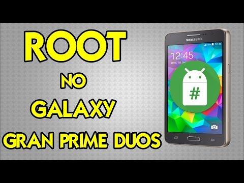 Como fazer root no Galaxy Gran Prime Duos - 5.0.2/4.4.4