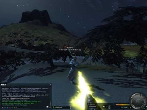 Entropia Universe - PVP in VU10 (CryEngine 2), A pvp video of a uber killing others in Entropia ^^
