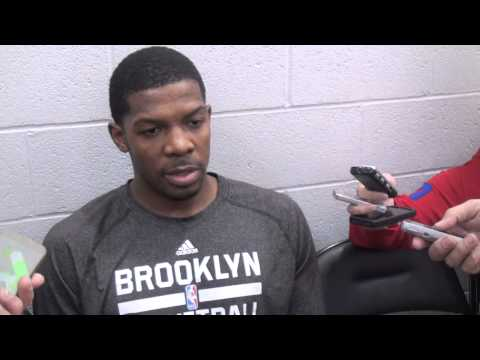 Brooklyn Nets Joe Johnson Reaction to Chicago Bulls Derrick Rose Injury