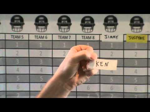 Fantasy Football Live Draft Selection Show 2012 - Sunday Beer Drinkers