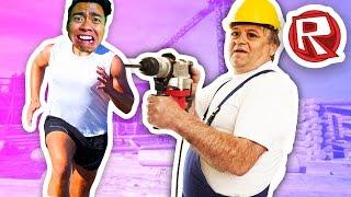 ESCAPE THE CONSTRUCTION YARD! | Roblox