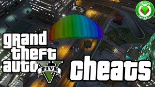 """GTA V"" Codigos Secretos (Cheat Codes)"