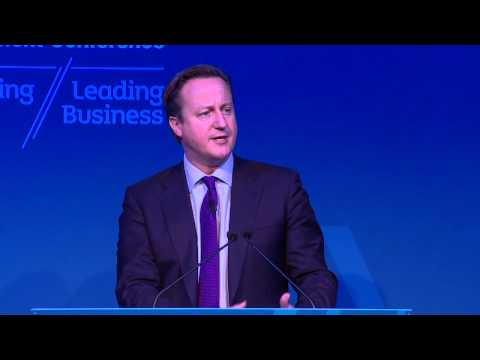 UK Prime Minister David Cameron - Keynote Speach at the Northern Irleand Investment Conference