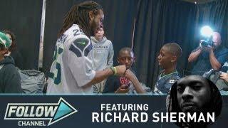 Seahawks Richard Sherman On Family And Football