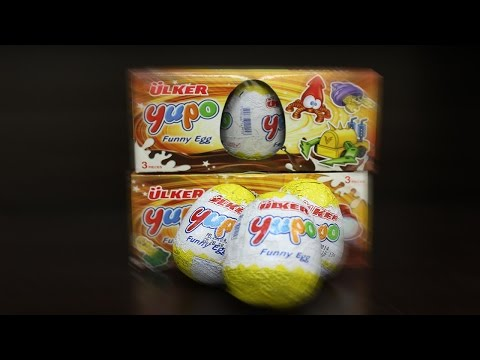 Kinder Joy | Ulker Funny Unpacking Toy