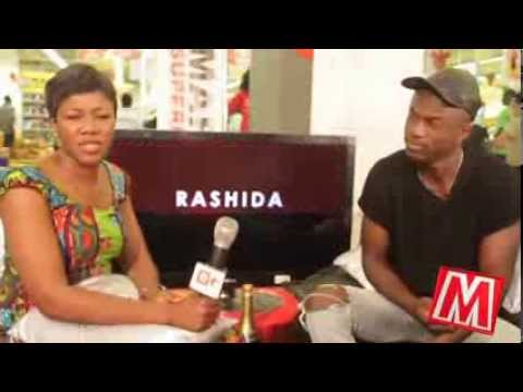 Joey B - - hangout with Rashida on etv @ Marina mall
