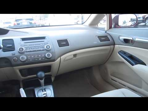2008 Honda Civic, Tango Red Pearl - STOCK# 12871P - Interior