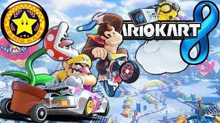 Mario Kart 8: Star Cup 150cc Crazy Comeback & New Character Gameplay Walkthrough PART 3 Wii U HD