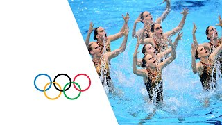 Russia Wins Teams Synchronized Swimming Gold - London 2012 Olympics
