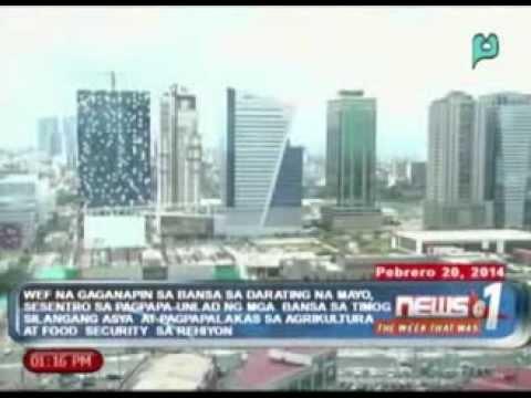 News@1 Week That Was: World Economic Forum, gaganapin sa Pilipinas sa darating na Mayo