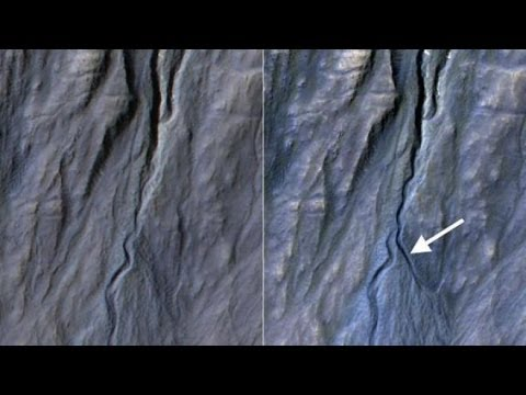 NASA Discovers New Gully On Mars And Still Denies Running Water