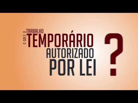 O que é Trabalho Temporário (Lei 6.019/74)?