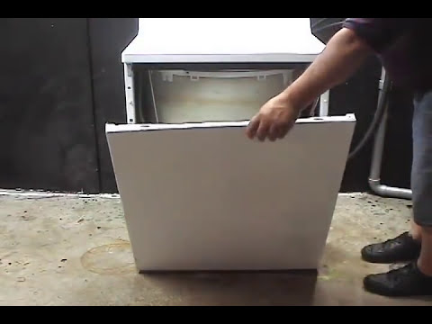 Taking it apart ge front serviceable washer youtube for Kenmore washer motor reset