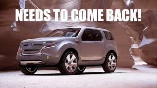 All comments on 2014 FORD Bronco Concept design with Eco Boost 5.0