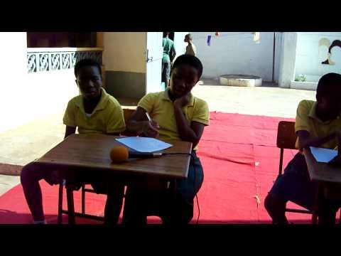 School Activities at Emmanuel School, Accra, Ghana - Quiz Show (Part 3)