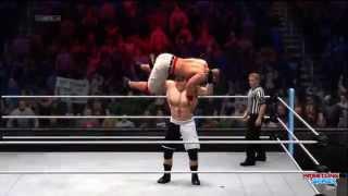 WWE SummerSlam 2014 Brock Lesnar Wins The WWE World