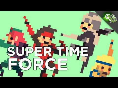 SUPER TIME FORCE: One of Adam's Favorite Games of PAX! Interview with Capybara's President