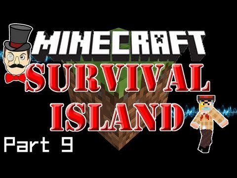 Minecraft SURVIVAL ISLAND - Struck Coal! Stubborn Grass... and Coconut Armor?!? (Part 9)