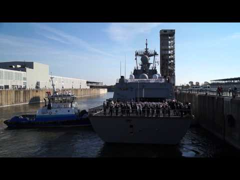 South Korean Destroyer ROKS Dae Jo Yeong Berths In Old Port Of Montreal 11
