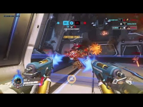 Overwatch Tracer Gameplay 41/10 Quick Play