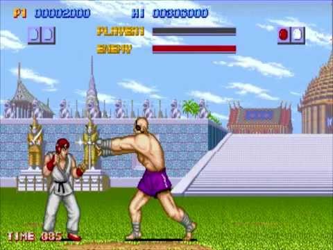 Voce ja viu o primeiro Street Fighter ?