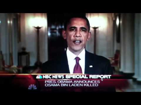 Barack Obama's Speech On Osama Bin Laden's Death May 1st 2011