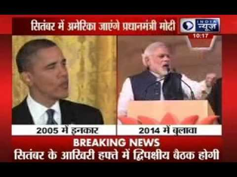 PM Modi accepts Barack Obama's invite