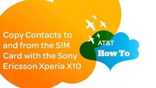 Copy Contacts To And From The SIM Card With The Sony