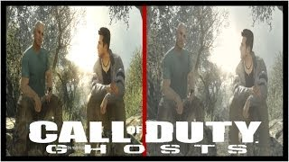 Call Of Duty Ghosts: Xbox 360 Vs PS3 Graphics Comparison