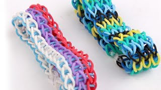 NOW How To Make Crazy Loom Starburst Bracelet Without