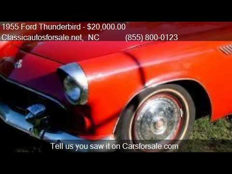 .netin , NC 27603Come test drive this 1955 Ford Thunderbird for sale