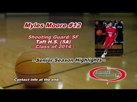 Myles Moore Senior Season Highlights