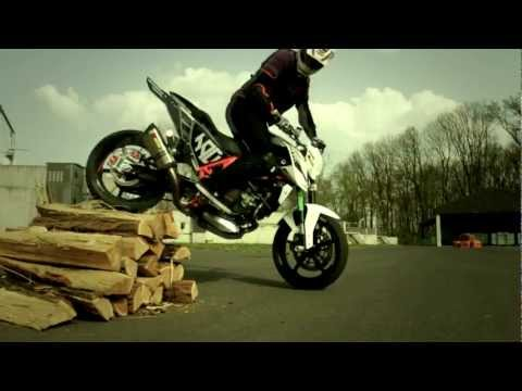 Rok Bagoros - picking up the KTM 690 Stunt Duke - The beginning