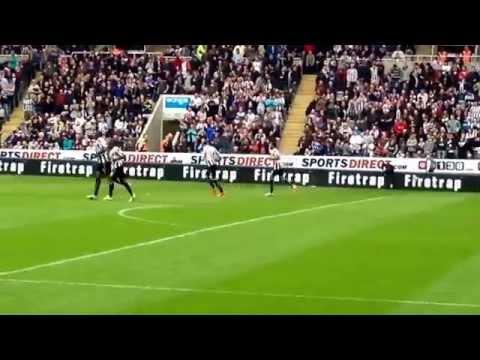 Newcastle United v Cardiff City 3/5/14 Goal!! Shola Ameobi