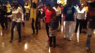 Line Dance Brunch With 7 Year Old Jalynn Doing B'More