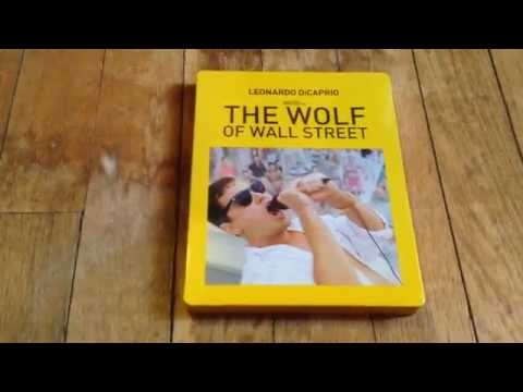 *UNBOXING* THE WOLF OF WALL STREET BLU RAY STEELBOOK - TARGET EXCLUSIVE