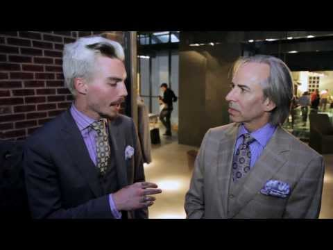 The Fashion District – Episode 5: Christopher Schafer Clothier @ Boffi – Maxalto