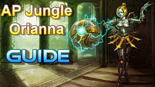 AP Jungle Orianna The Magic Baller League Of Legends