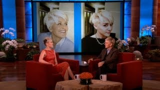Miley on Her Haircut