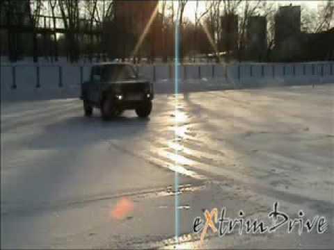 Контраварийное вождение на льду