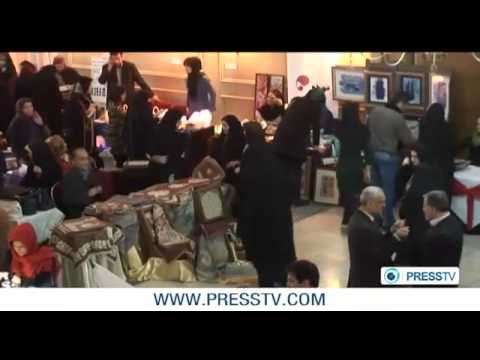 Tehran hosts diplomatic charity market