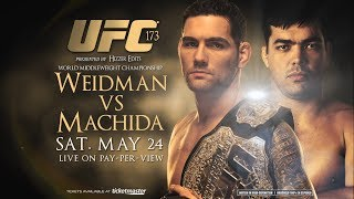 UFC 175: Weidman Vs Machida Promo