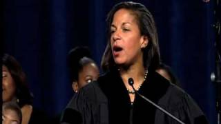 Ambassador Susan Rice at 2010 Commencement 3/3