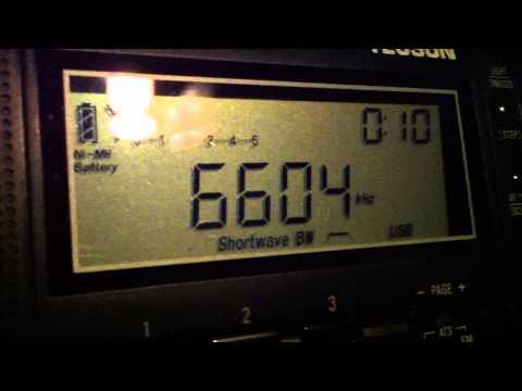 6604 kHz New York Radio Volmet