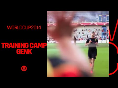 Belgian Red Devils' preparation World Cup 2014: Training camp Genk!