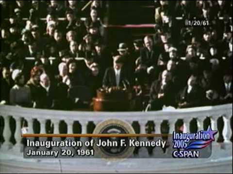 President Kennedy 1961 Inaugural Address