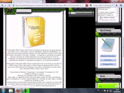 Microsoft Office Project 2007 PT-BR Ativado